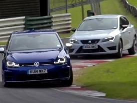 Vidéo : VW Golf R vs Seat Leon Cupra 280, qui est la plus rapide ?