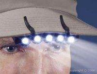 Une lumière sur votre casquette