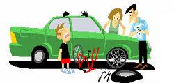 En cas de panne de voiture