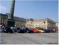 Photos du jour : Rassemblement de Ferrari 612