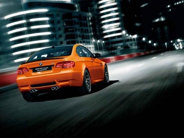 BMW M3 Competition Package : encore en orange, mais cette fois c'est pour le Japon