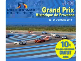 Agenda Week-end : Grand Prix Historique de Provence au HTTT Paul Ricard