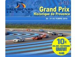 Agenda Week-end : Grand Prix Historique de Provence au HTTT Paul Ricard