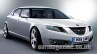 Future Saab 9-5: nouvelles visions