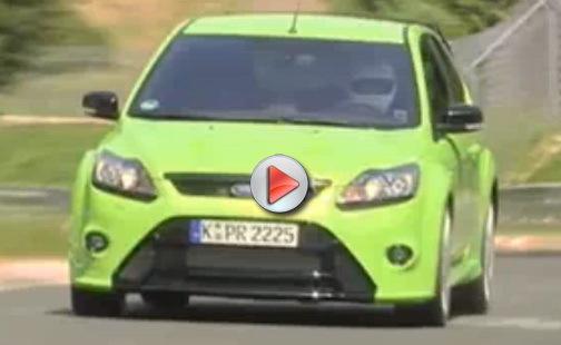 [Vidéo] 8 minutes 26 secondes pour la Ford Focus RS sur le Nürburgring : derrière la Megane R26.R