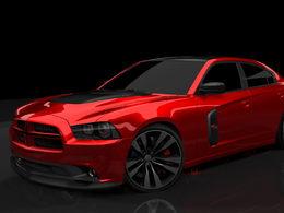 SEMA 2010 : Dodge Charger RedLine, elle est bien rouge