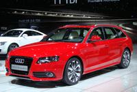 Salon de Genève 2008: Audi A4 Avant en live