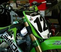 Kawasaki vous présente ses pilotes Mx pour 2009