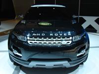 Land Rover LRX Concept en direct de Genève
