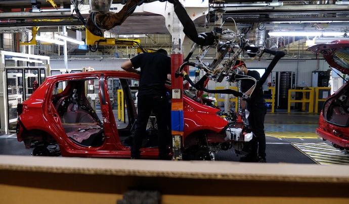 Toyota Valenciennes:une production déjà plus élevée que prévu
