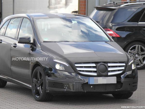 Surprise : le Mercedes Classe B AMG en vadrouille