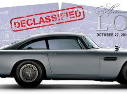 La DB5 de 007 en vente