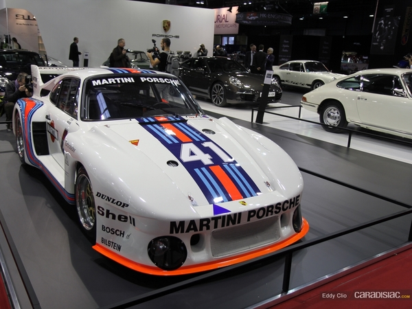 Photos du jour : Porsche 935 (Retromobile)