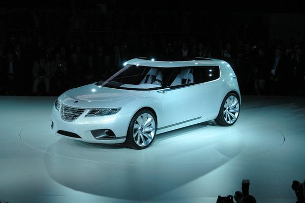 Live in Genève (ou presque) : Saab 9-X BioHybrid