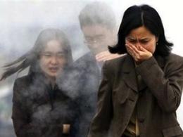 A Pékin, la pollution de l'air atteint actuellement des seuils jugés dangereux