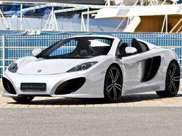 Salon de Genève 2013 : Gemballa avec une McLaren MP4-12C Spider
