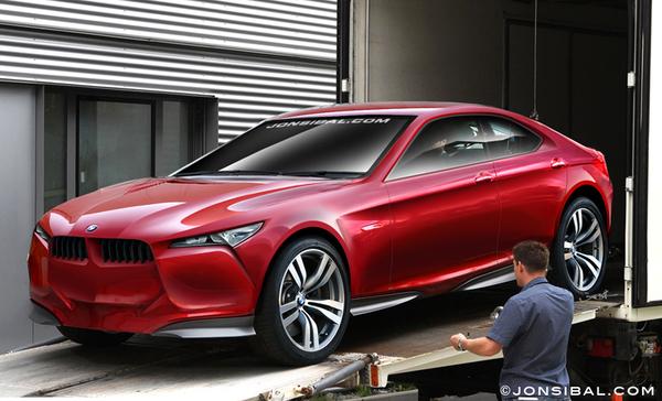 BMW Concept pour Francfort : comme ça ?