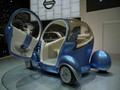 Les Nissan Pivo 2 et Cube présentés à la Cité des Sciences et de l'Industrie