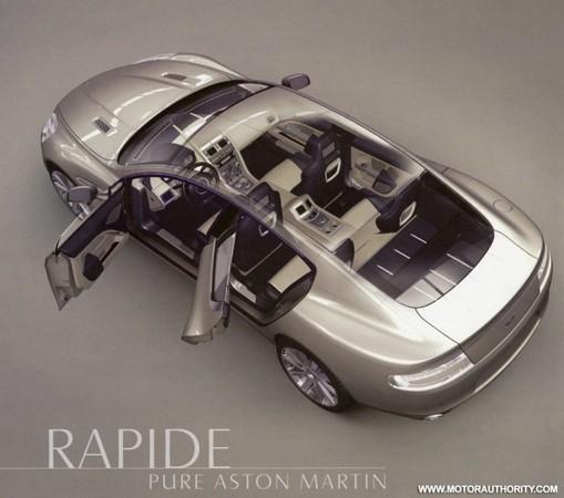 Aston Martin Rapide : nouvelles images