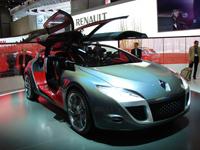 Live Genève : Renault Mégane coupé concept