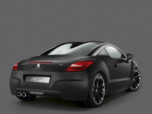Peugeot RCZ: 245 ch et un lifting en 2012