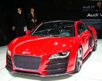 Salon de Genève 2008 :  Audi R8 TDI Le Mans Concept en direct