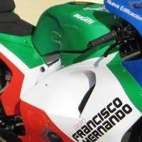 Moto GP: La Ducati de Gibernau change de style
