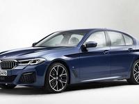 La BMW Série 5 restylée en fuite
