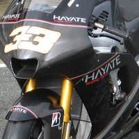 Moto GP - Hayate: Un noir qui lui va bien