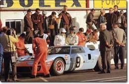 LE MANS 1968 : FORD MATE PORSCHE