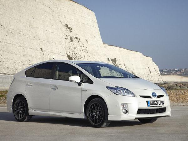 Au Royaume-Uni, une Toyota Prius classée X pour célébrer ses 10 ans d'existence