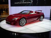 Live à Genève : Lexus LF-A Roadster et IS-F