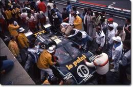 24 Heures du Mans 1980 : Rondeau terrasse Porsche
