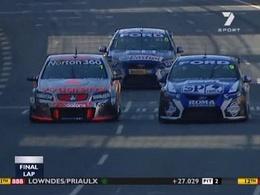 [Vidéo] Finish à l'Australienne en V8 Supercars, juste magnifique