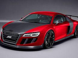 Salon de Genève 2013 : Audi R8 GTR ABT