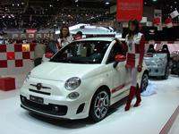 Live Genève : Fiat 500 Abarth