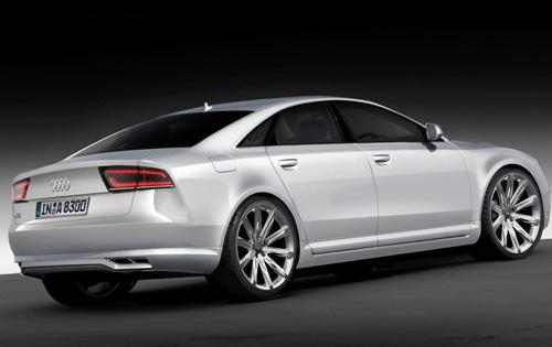 Nouvelle Audi A8: comme ça?