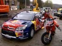 Stefan Everts devance Sébastien Loeb au mur de Grammont