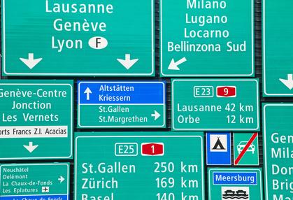 s curit routi re les suisses pensent rouler 140 km h sur leurs autoroutes. Black Bedroom Furniture Sets. Home Design Ideas