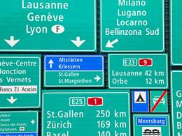 Sécurité Routière: les Suisses pensent à rouler à 140 km/h sur leurs autoroutes