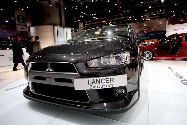 Live in Genève 2008 : Mitsubishi Lancer Evolution, désirable
