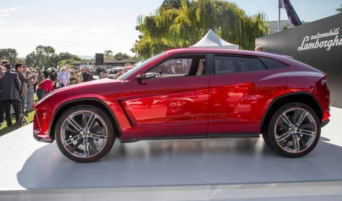 Lamborghini dévoilera son premier SUV en décembre