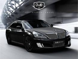 SEMA 2010 : Hyundai Equus par DUB Edition, pour yakuzas ?