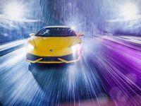 Une Lamborghini miniature shootée comme une vraie