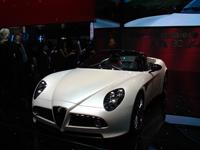 Live Genève : Alfa Romeo 8C Spider