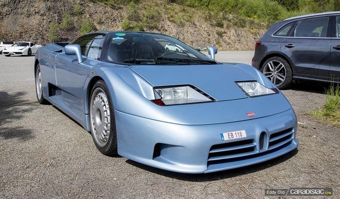 Photos du jour : Bugatti EB110 (Spa Classic)