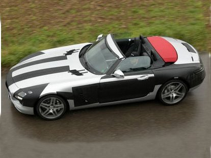 Futur Mercedes SLS Roadster : surprise sans toit