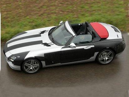 Futur Mercedes SLS Roadster : surprise sans toit