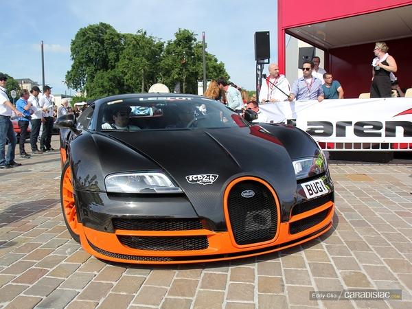 Photos du jour : Bugatti Veyron Super Sport WRE (Parade des Pilotes)