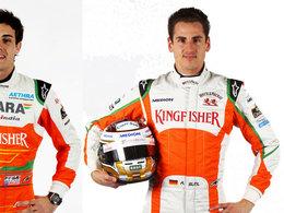 F1 : Force India choisit Adrian Sutil, Jules Bianchi à nouveau sur la touche